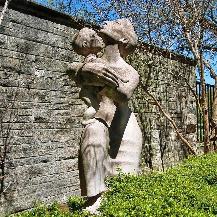 """Madonna and Child"" by Charles Umlauf"