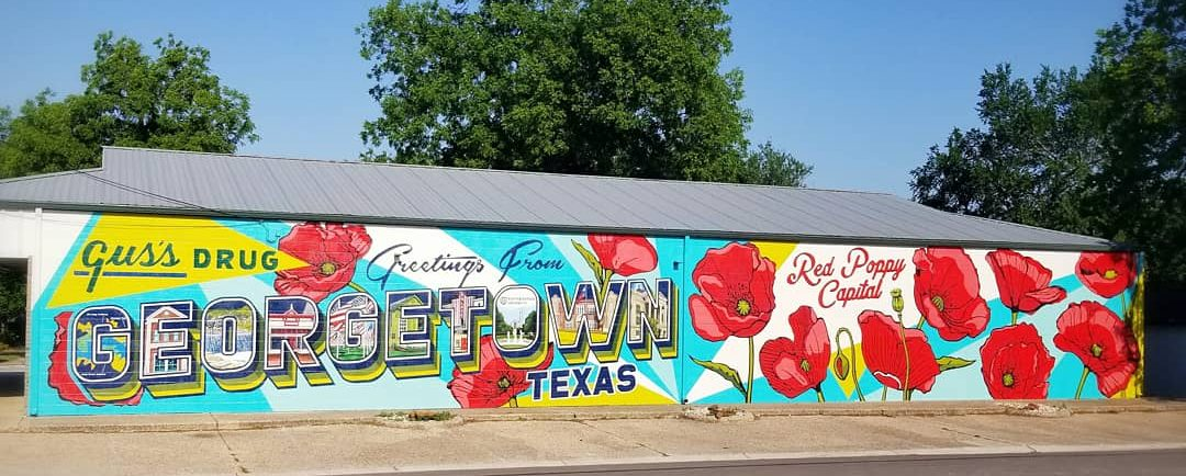 """Greetings from Georgetown Texas"" by Sarah Blankenship"