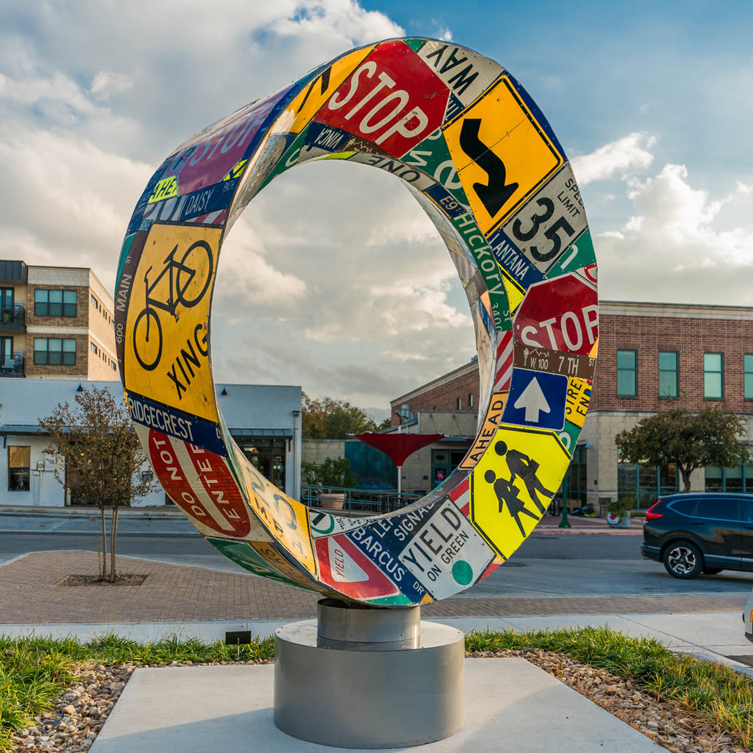 """Circular Reflect"" by Scott Shubin"