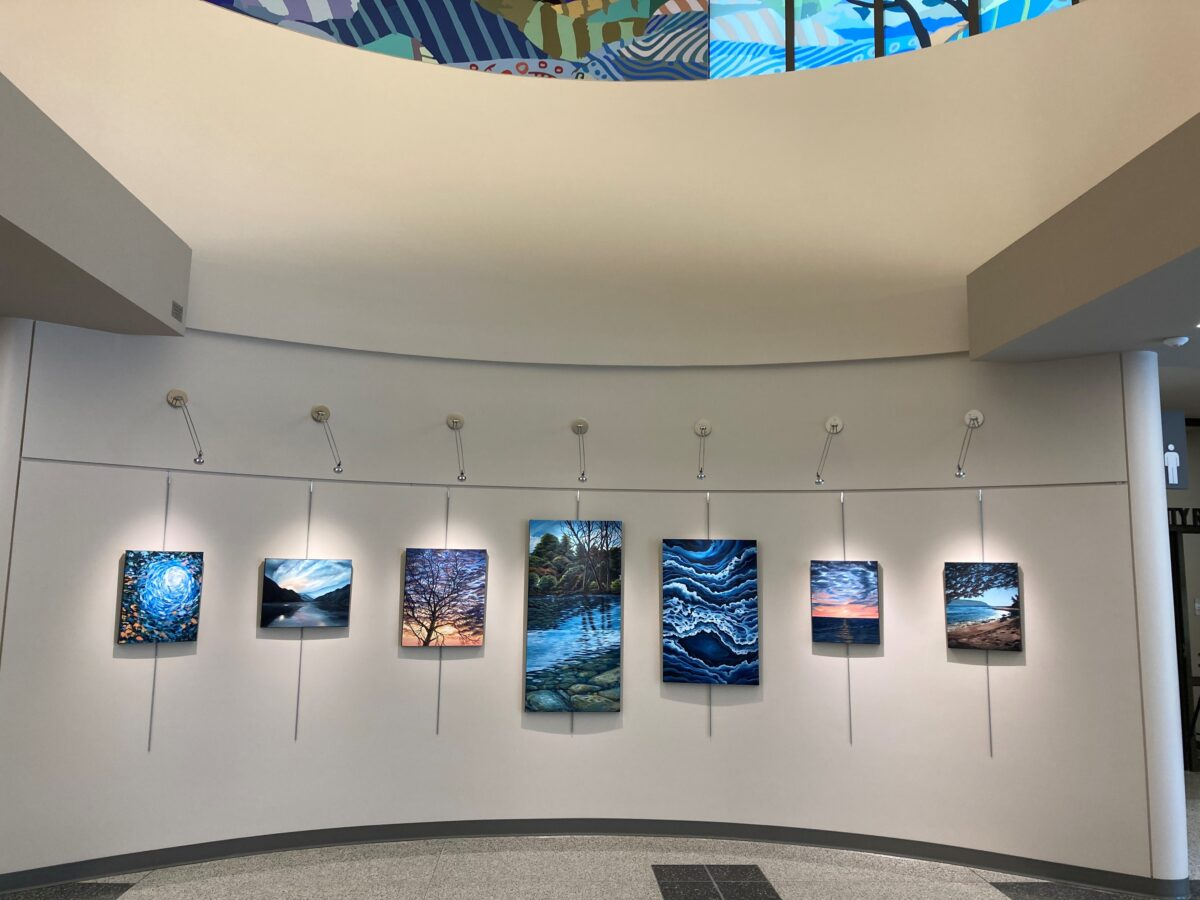 City Hall Gallery: Artwork by Jessica Meurer Sobhani